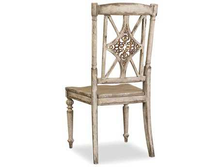 Hooker Furniture Chatelet Fretback Caramel Froth Dining Side Chair