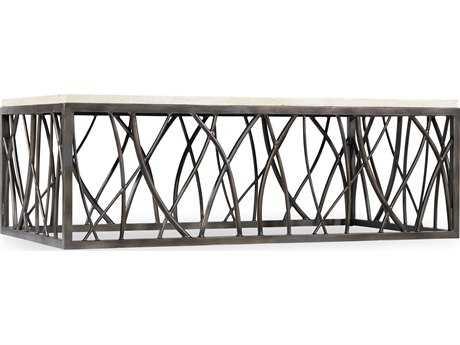 Hooker Furniture Whites, Creams & Beige 54''L x 30''W Rectangular Cocktail Table