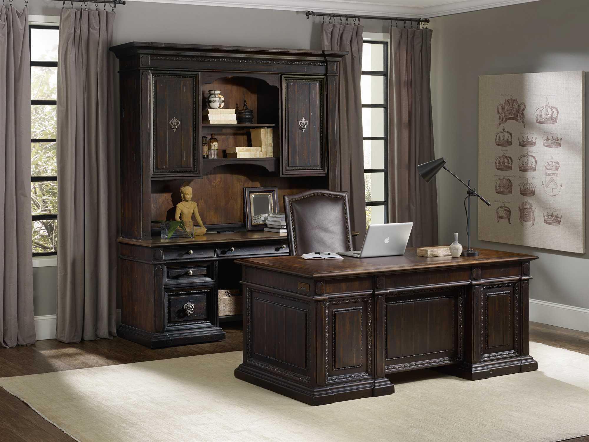 hooker furniture treviso home office set hoo537410464set