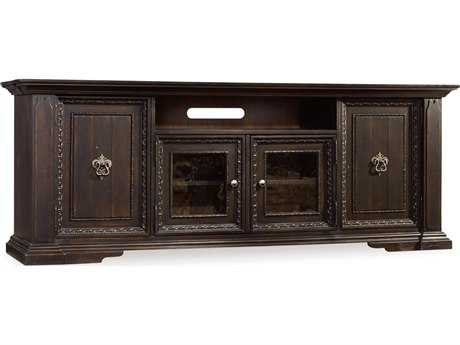 Hooker Furniture Treviso Rich Dark Macchiato 85''L x 22''W Rectangular Entertainment Console