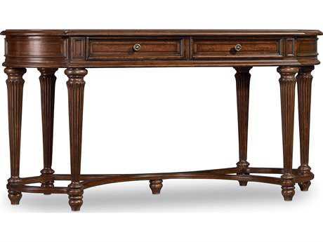 Hooker Furniture Leesburg Rich Traditional Mahogany 60.5''L x 26.5''W Rectangular Writing Desk