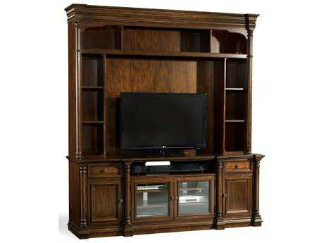 Hooker Furniture Leesburg Rich Traditional Mahogany 85''L x 22''W Entertainment Center