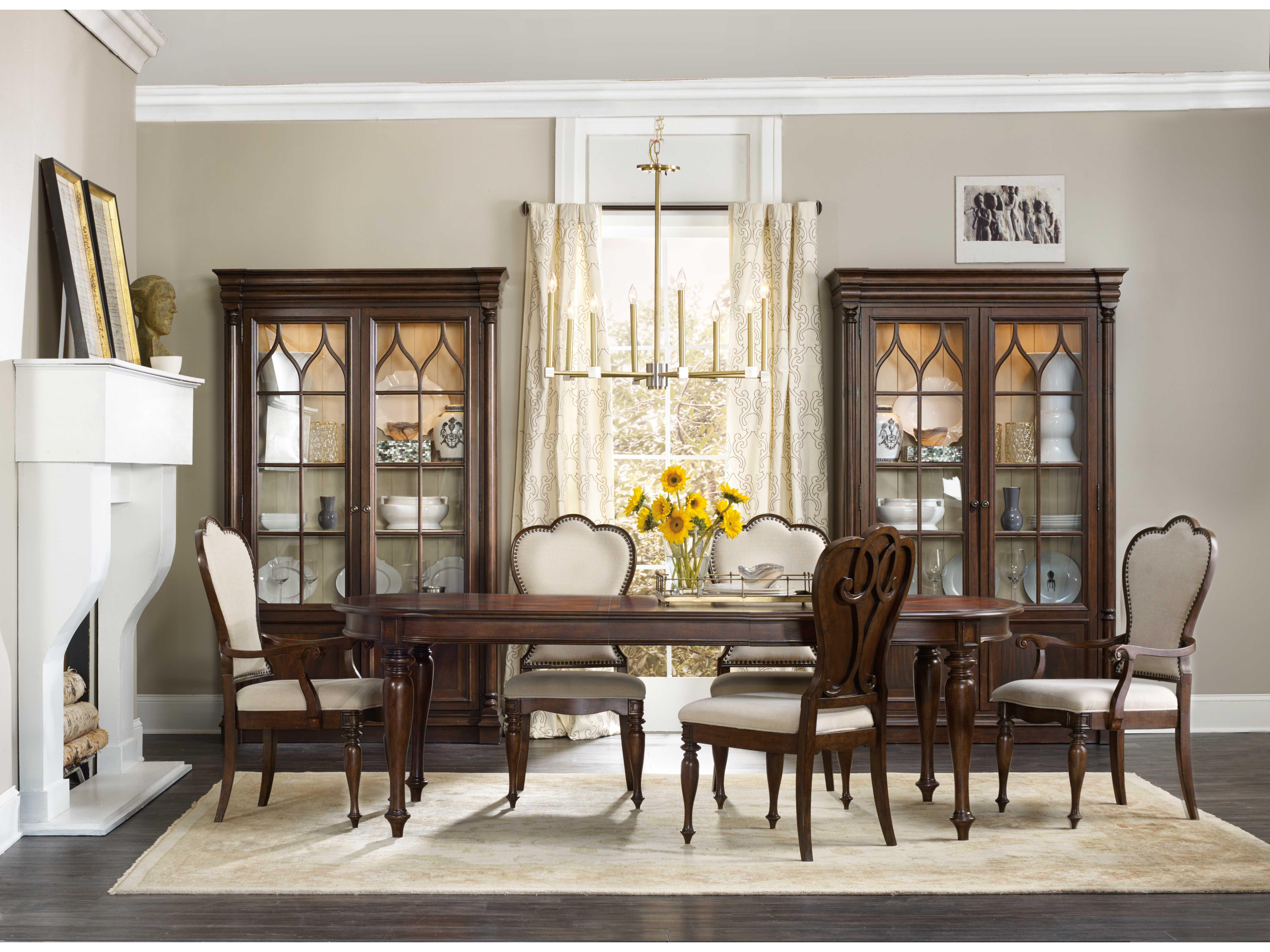 leesburg rich traditional mahogany china cabinets hoo538175906