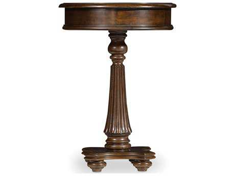 Hooker Furniture Leesburg Mahogany 18'' Wide Round Pedestal Table