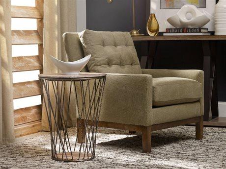 Hooker Furniture Studio 7H Scandinavian 18'' Wide Round End Table