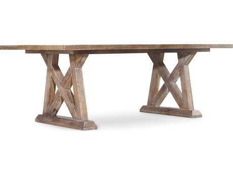 Hooker Furniture Studio 7H Scandinavian 84''-124''L x 44''W Rectangular Dining Table