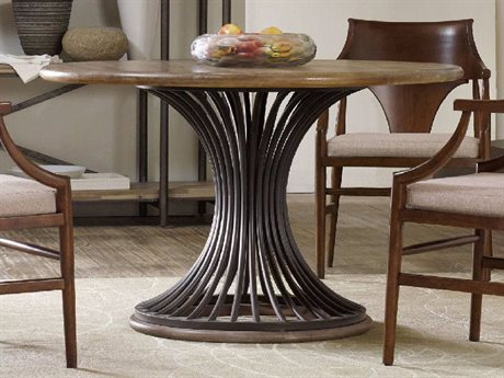 Hooker Furniture Studio 7H Scandinavian 54u0027u0027 Wide Round Dining Table