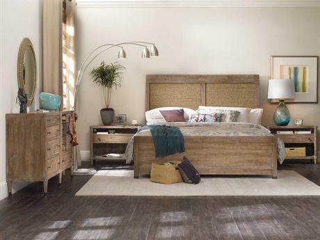 Hooker Furniture Studio 7H Wood Panel Bed Bedroom Set