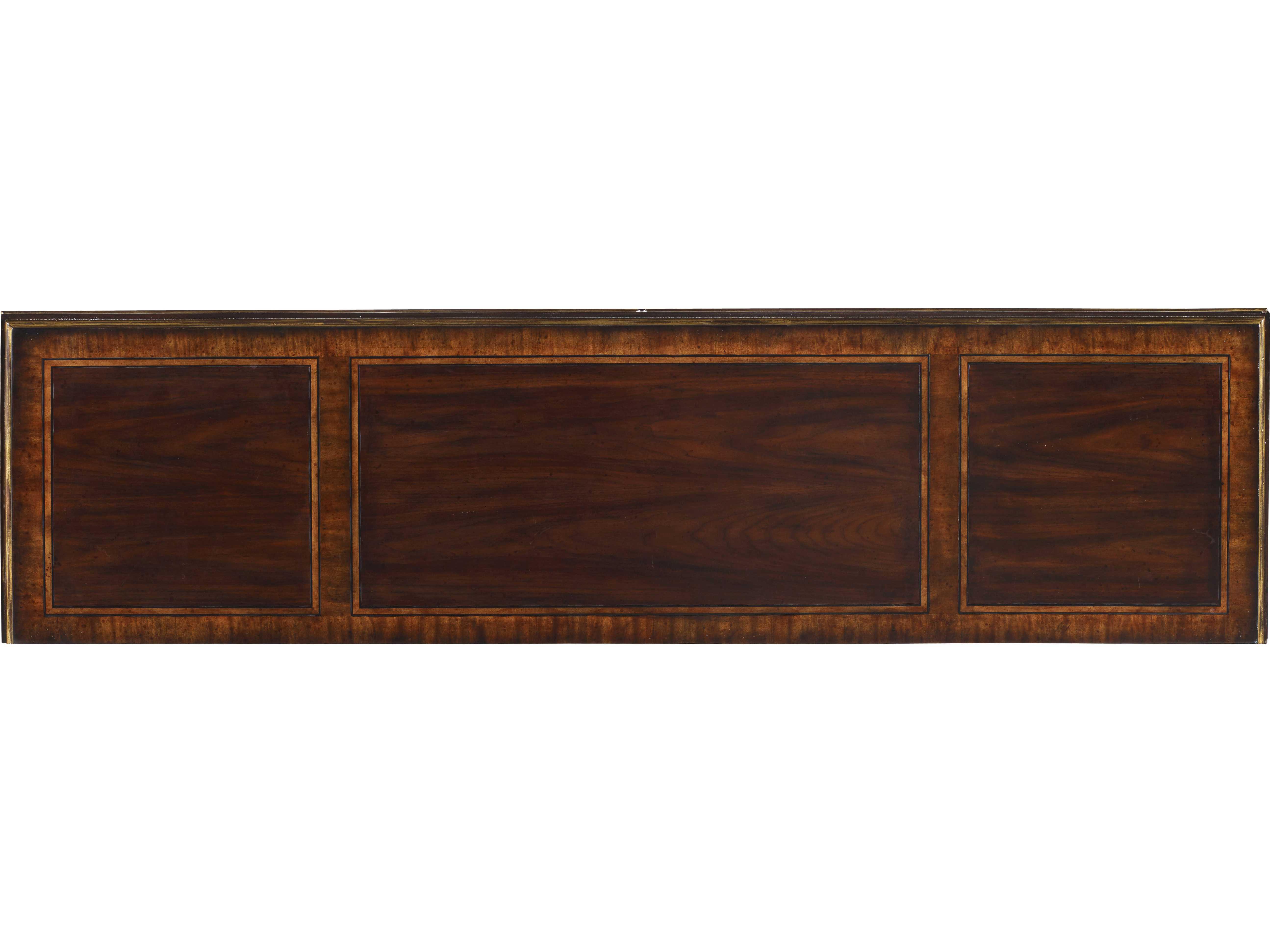 Credenza Dark Wood : Large media congo credenza
