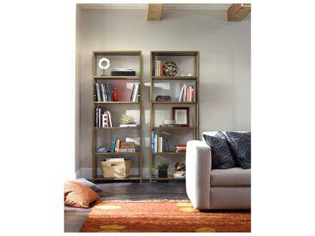 Hooker Furniture Studio 7H Medium Wood Tall Bookcase