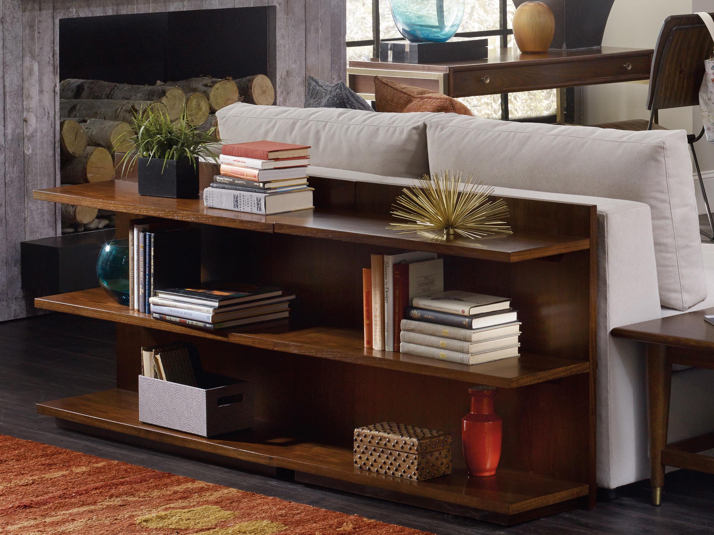Hooker Furniture Studio 7h Medium Wood Bookcase Console