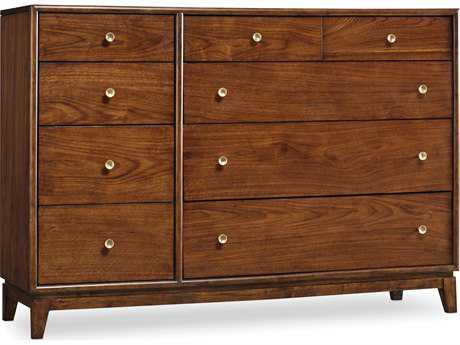 Hooker Furniture Studio 7H Low-sheen Walnut San Serif Double Dresser