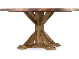 Hooker Furniture Sanctuary Antique Hickory 60'' Wide Round Dining Table