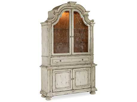 Hooker Furniture Sanctuary Vintage Chalky White China Cabinet