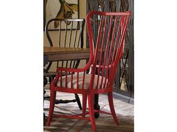 Sanctuary Ultra True Red Tall Spindle Dining Arm Chair