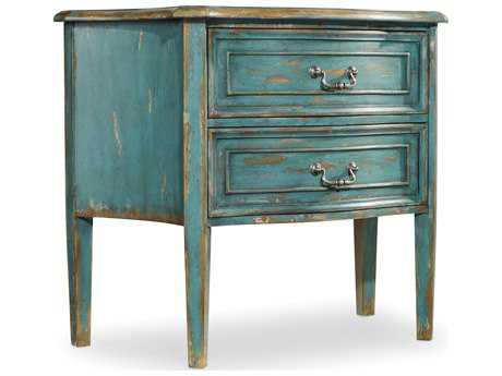 Hooker Furniture Sanctuary Sky High Azure Blue 40''W x 21''D Bachelor Chest Nightstand