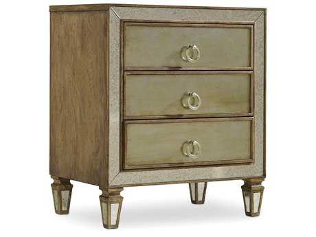 Hooker Furniture Sanctuary Avalon 28''W x 18''D Rectangular Nightstand (OPEN BOX)