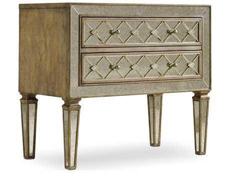 Hooker Furniture Sanctuary Avalon 34''W x 18''D Rectangular Bachelor Chest Nightstand