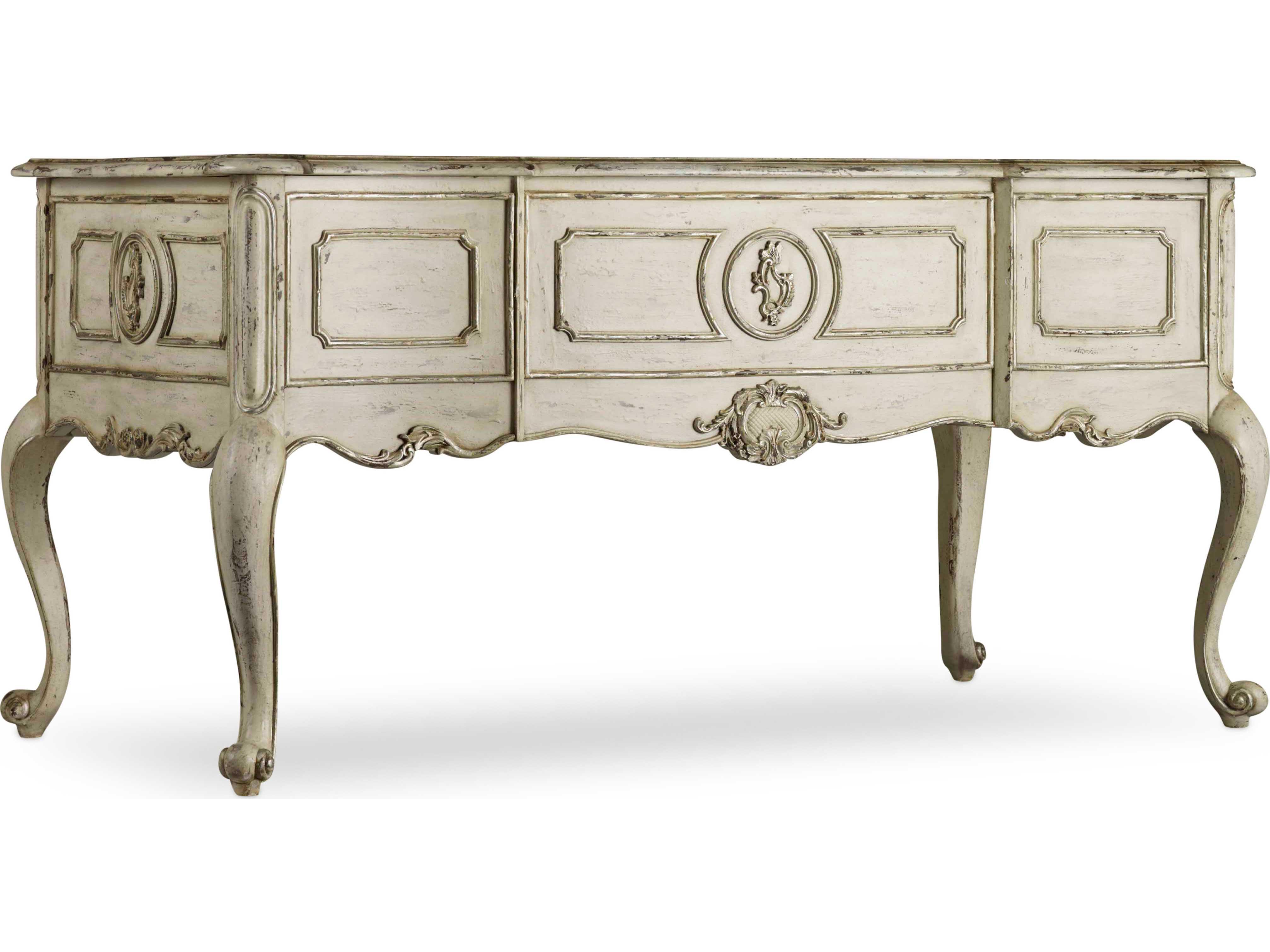Furniture La Maison Du Travial Off White With Antique Rub Gray 62 L