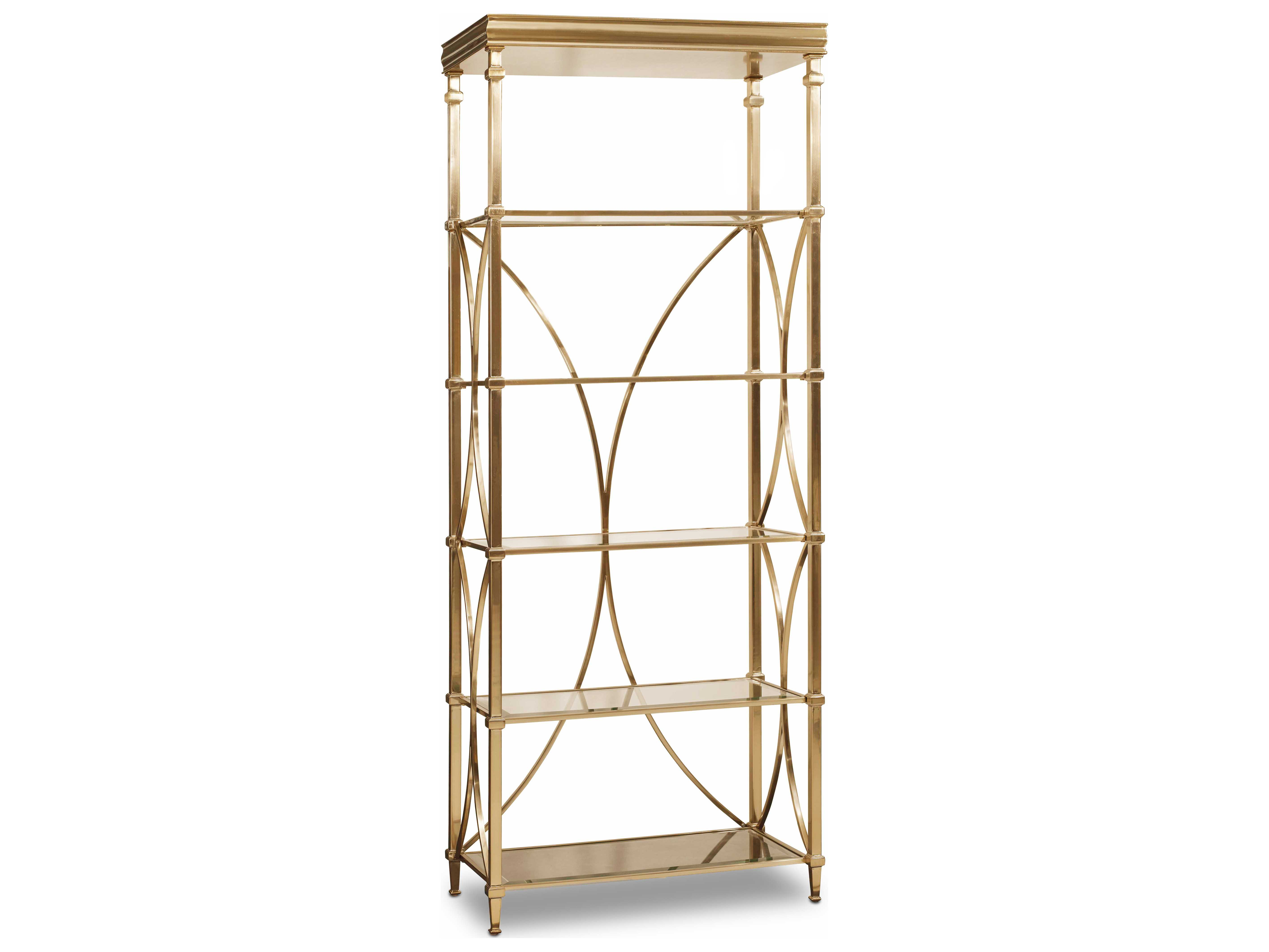 and from gold sauder bookcase blogpost metal edition room blog home tour glass in ideas amanda dining tower