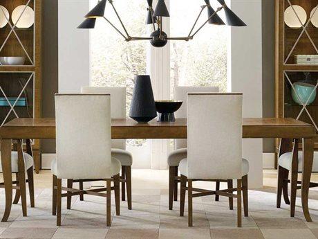 Hooker Furniture Retropolitan Soft Caramel 78''L x 44''W Rectangular Dining Table