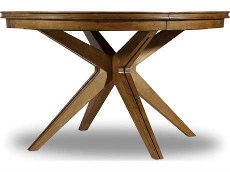 Hooker Furniture Retropolitan Soft Caramel 52'' Wide Round Dining Table