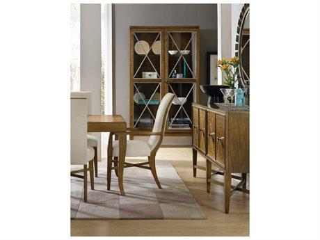 Hooker Furniture Retropolitan Soft Caramel Dining Arm Chair