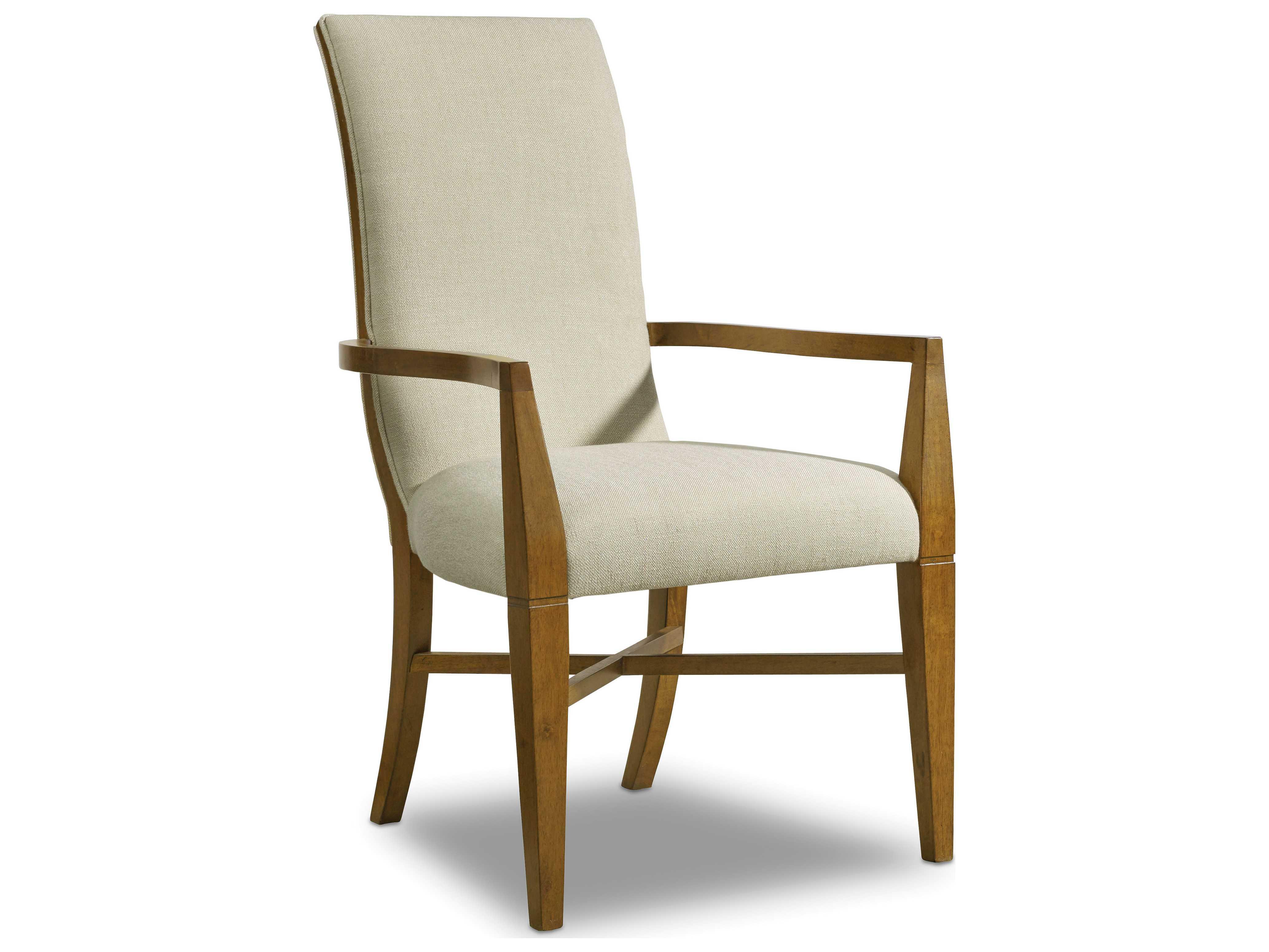 Hooker Furniture Retropolitan Soft Caramel Dining Arm