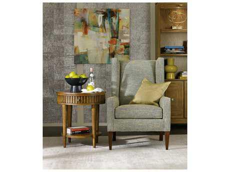 Hooker Furniture Retropolitan Soft Caramel 24'' Wide Round End Table