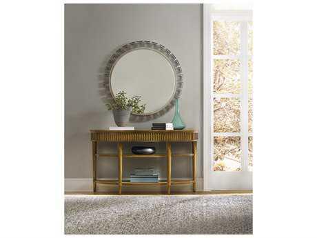 Hooker Furniture Retropolitan Soft Caramel 56''L x 18''W Demilune Console Table
