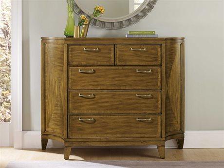Hooker Furniture Retropolitan Soft Caramel Bureau Single Dresser