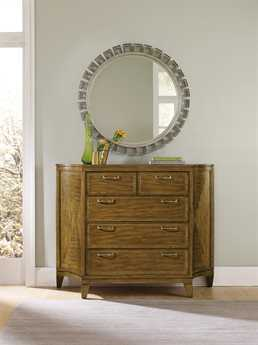 Beautiful Hooker Furniture Retropolitan Soft Caramel Bureau Single Dresser U0026 Mirror  Set