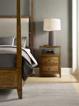 Hooker Furniture Retropolitan Upholstered Poster Bed Bedroom Set
