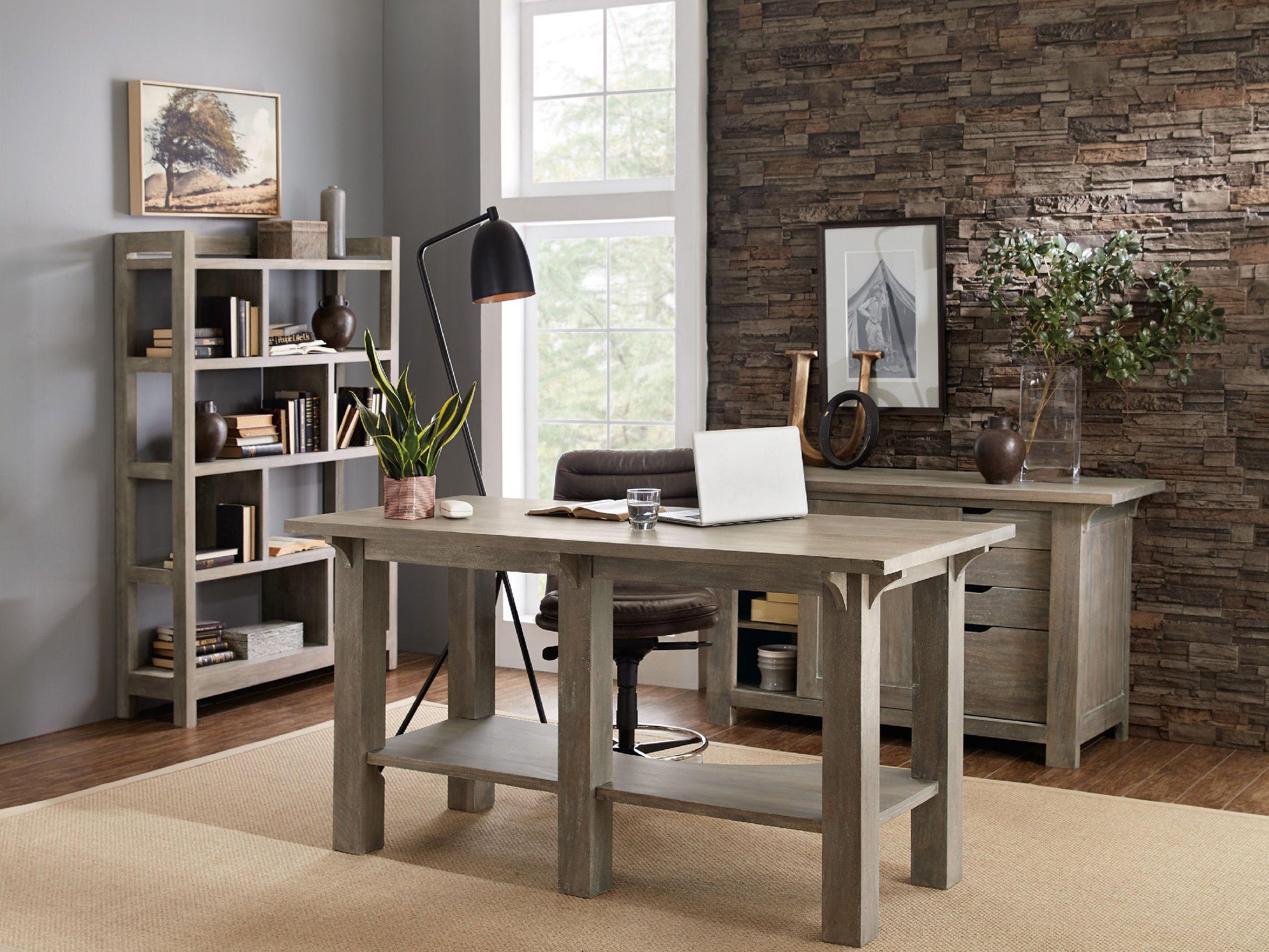 Hooker Furniture Urban Farmhouse Gray 72''L x 32''W ...