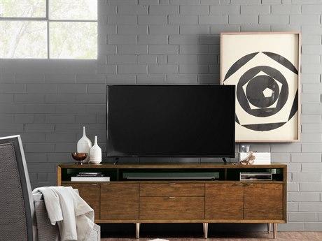 Hooker Furniture Medium Wood 84''L x 18''W Rectangular Entertainment Console