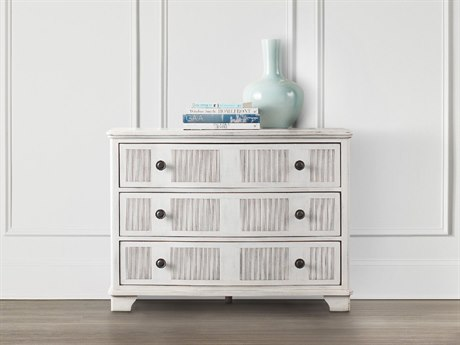 Hooker Furniture Swedish White 42''W x 19''D Accent Chest Cabinet
