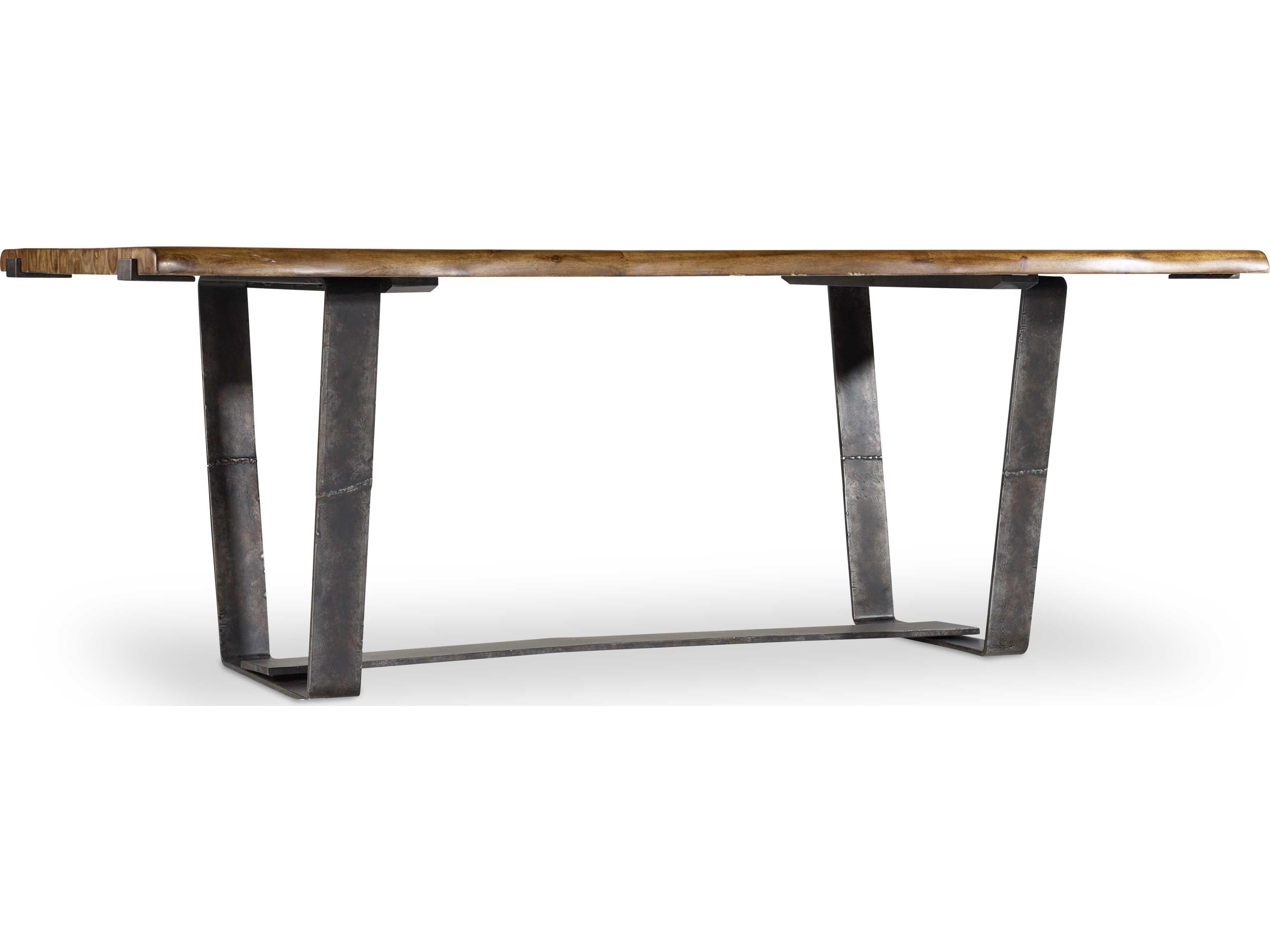 hooker furniture live edge 83 39 39 l x 42 39 39 w rectangular dining table hoo559075200. Black Bedroom Furniture Sets. Home Design Ideas