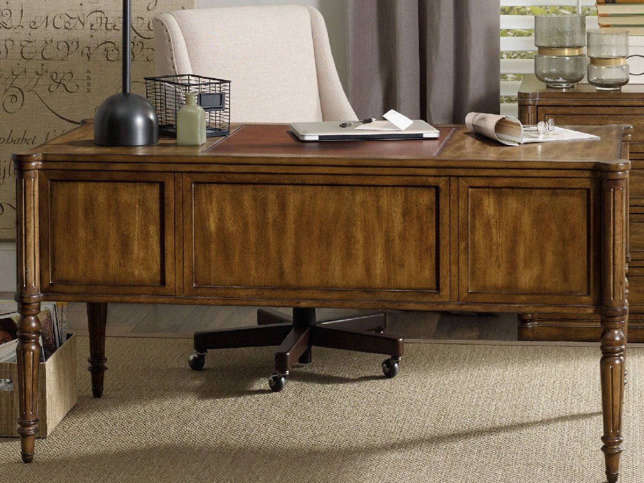 hooker furniture saint armand home office set