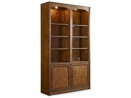 Hooker Furniture Saint Armand Organic Russet Wall Bookcase