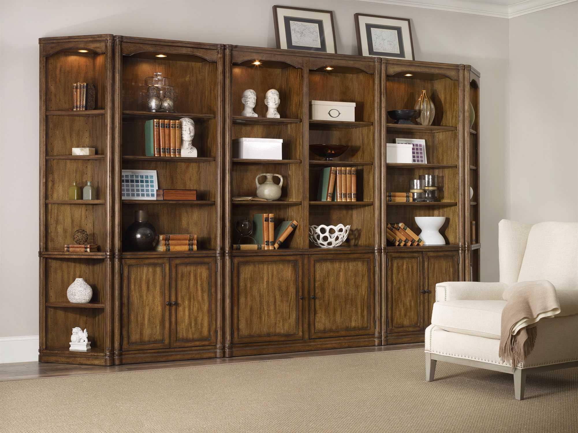 Hooker Furniture Saint Armand Organic Russet Bookcase