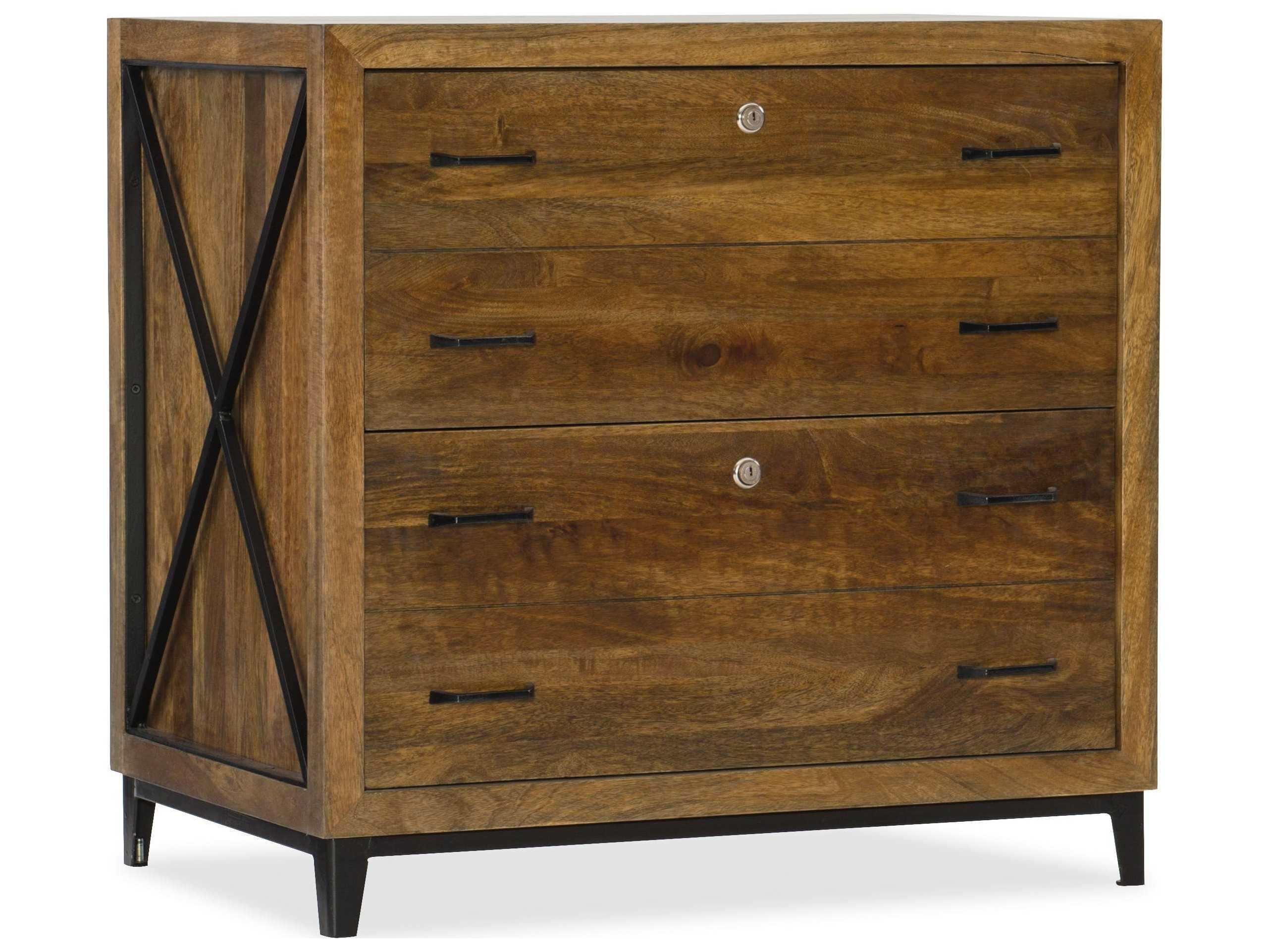 Hooker Furniture Rustique Medium Wood Lateral File Cabinet