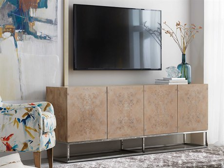 Hooker Furniture Povera Brown 78''L x 16''W Rectangular Entertainment Console