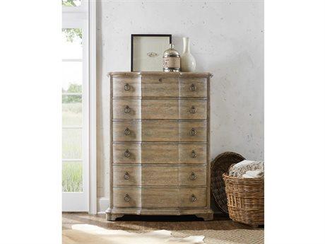 Hooker Furniture Boheme Light Wood Six-Drawers Chest