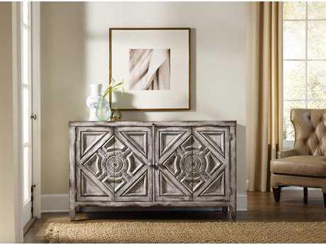 Hooker Furniture Chatelet White, Cream & Beige 60''L x 20''W Rectangular Buffet