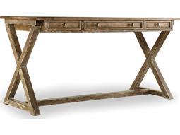 Melange Light Wood 60''L x 30''W Rectangular Bennett X-Base Writing Desk