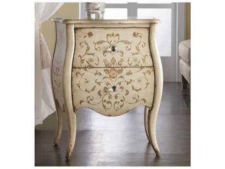 Hooker Furniture Melange White, Cream & Beige 24''W x 16''D Ariana Hand Painted Accent Chest