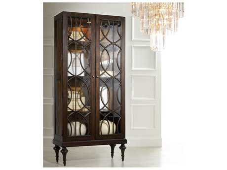Hooker Furniture Melange Walnut Veneers China Cabinets