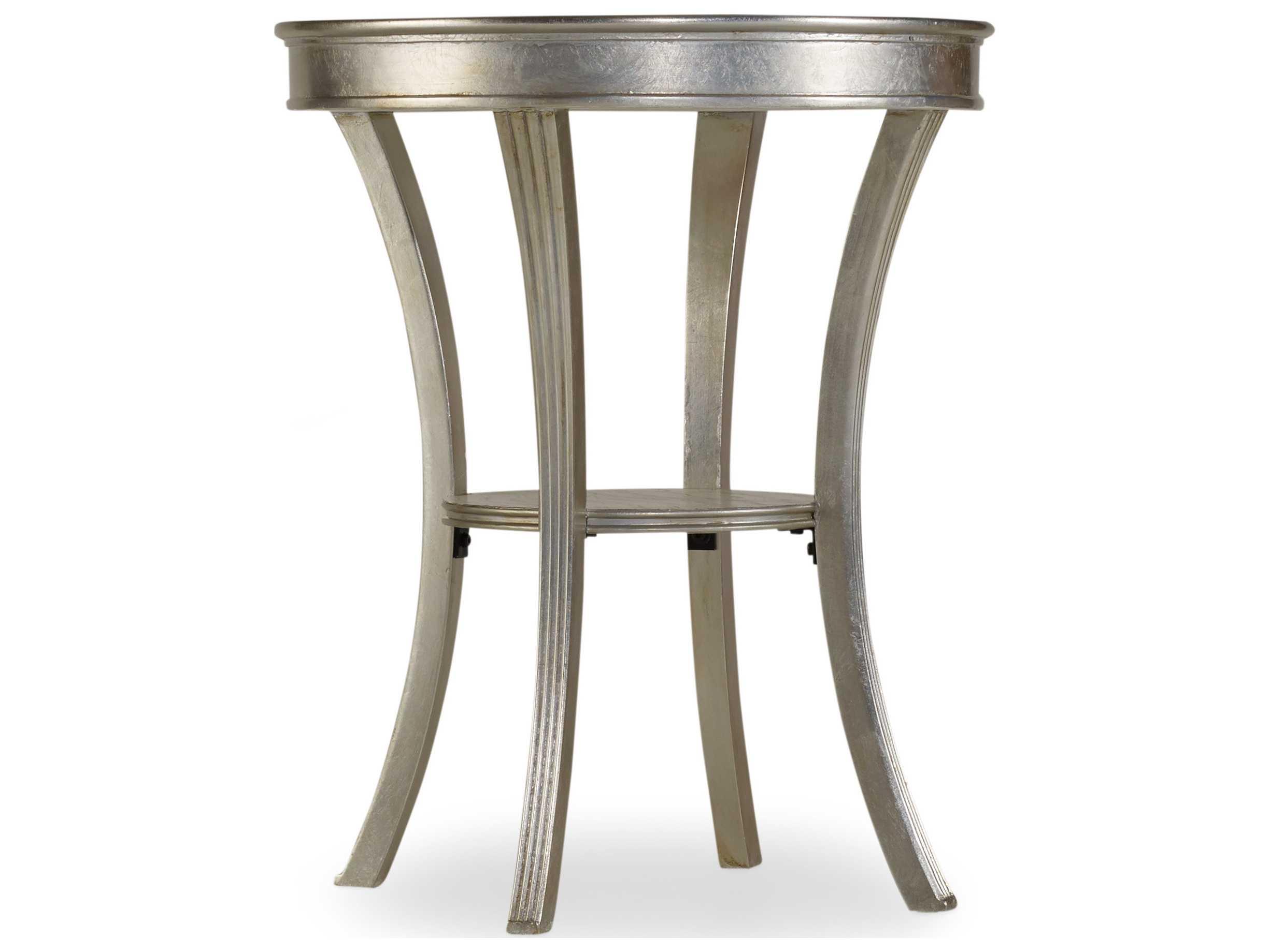 Hooker Furniture Melange Silver 22 Wide Round Semblance