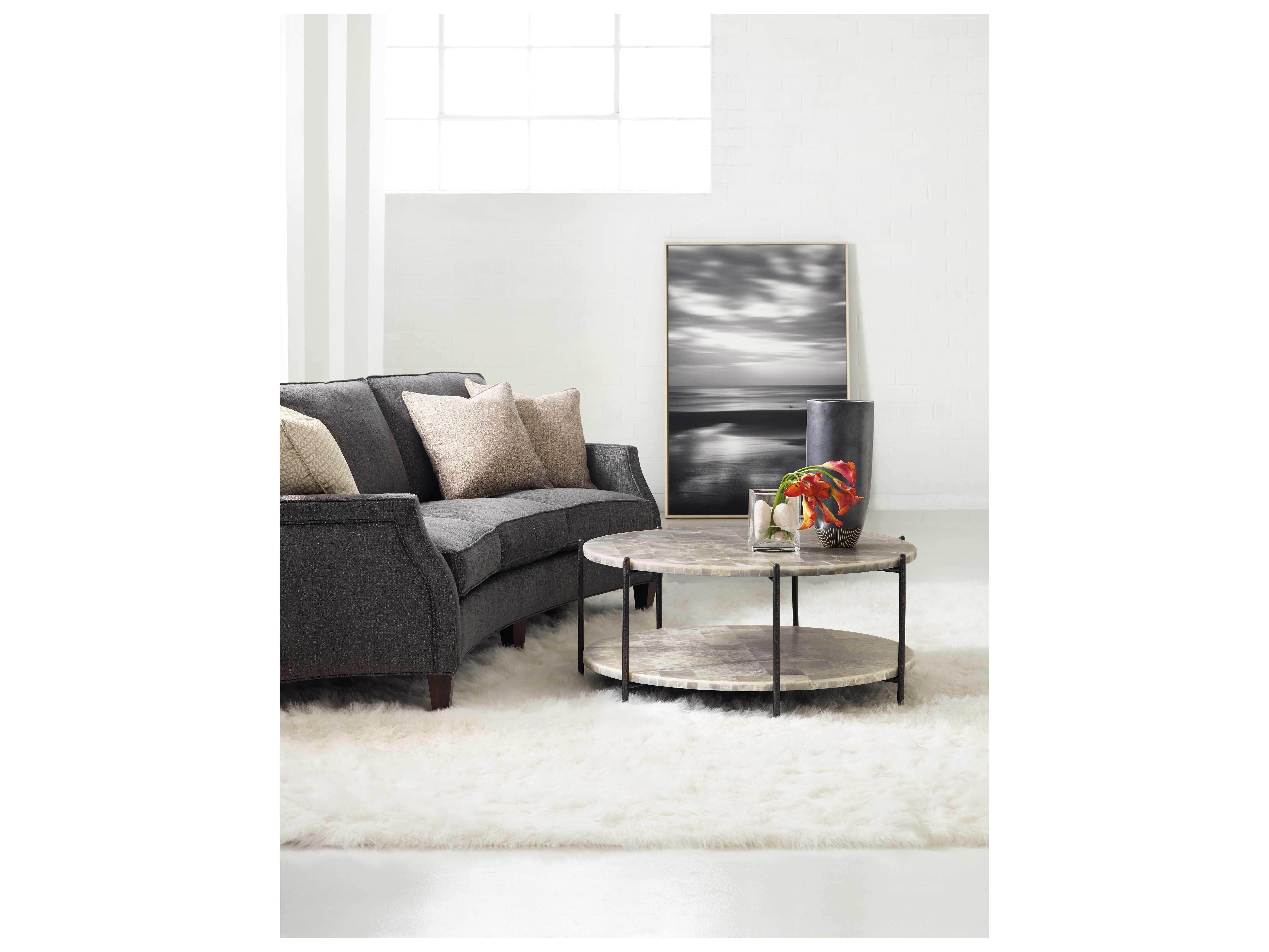 Hooker Furniture Melange Whites, Creams & Beige 41\'\' Wide Round ...