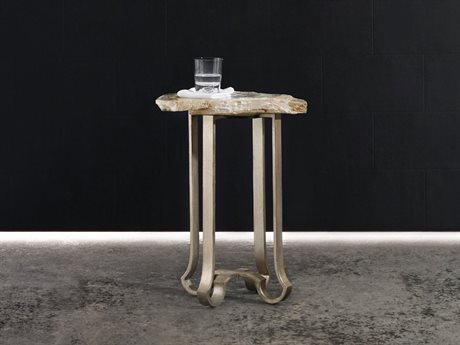 Hooker Furniture Melange Silver 19''L x 16''W Accent End Table